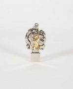 "Berrocal Micro ""Micheline X, Opus 139"" Pendant Sculpture"