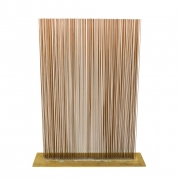 Val Bertoia Four Row Copper & Brass Sonambient Sculpture