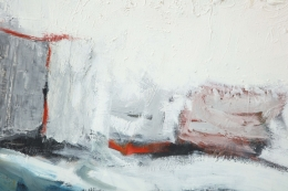 Abstract Painting by Michael Argov, Close Up 8
