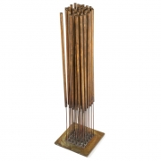 Harry Bertoia Beryllium Bronze Cattail Sonambient Sculpture