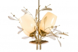 Paavo Tynell Floral Chandelier