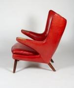 """Hans J. Wegner """"Papa Bear"""" Chair for A.P. Stolen, Side View"""