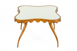 Osvaldo Borsani Mirror Top Coffee or Side Table