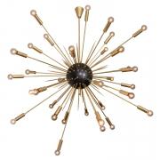 Large Italian Mid-century Style Sputnik Pendant