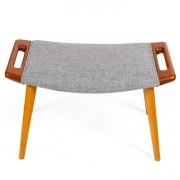 "Hans J. Wegner Signed ""Papa Bear"" Chair & Ottoman for AP Stolen, 1"