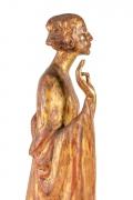 """Chinoise"" by Gertrude Vanderbilt Whitney Gilded Plaster, Close Up 2"