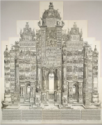 Albrecht Dürer, The Triumphal Arch of Maximilian, 1515 (1799 edition)