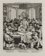 William Hogarth  The Reward of Cruelty, pl. 4 from the complete set of four, 1751