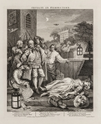 William Hogarth   Cruelty in Perfection, pl. 3 from the complete set of four