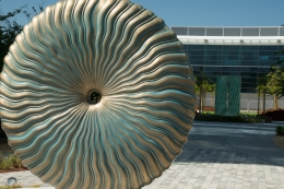 Moffett Gateway: Ebb and Flow with Flow Fountains