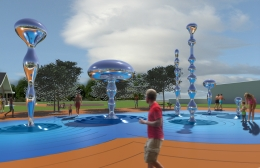 Kissimmee Raindrop Fountains