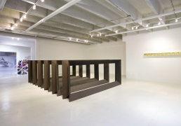 Donald Judd, installation view