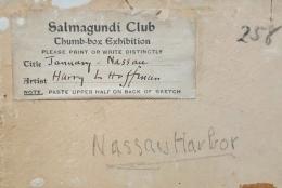 Harry Leslie Hoffman (1871-1964), January, Nassau, 1917