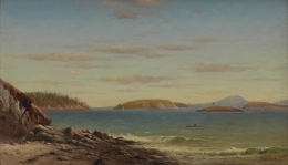 Charles Henry Gifford (1839-1904), Frenchman's Bay, Mount Desert Island, Maine,, 1874