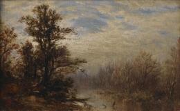 David Johnson (1827-1908), Morning, 1876