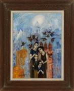 Philip Evergood (1901-1973), Seeking a Future, 1952
