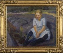 John French Sloan (1871-1951), Kathleen Whalen, 1916