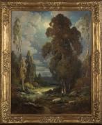 Alexis M. Podchernikoff (1886-1933), Moonlight Night, Ojai Valley, California, 1929