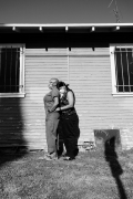 """Photograph by Texas Isaiah from 2020 titled """"Lex and Rene for Our Moonlight"""". Edition of 3."""
