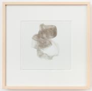 """Rebecca Purdum, """"#65"""", 1993, silverpoint on paper, 10 7/8 inches by 11 1/8 inches (27 by 28 centimeters)."""