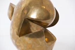 André Bloc's sculpture detail of bronze