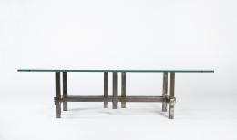 Marino di Teana's sculptural coffee table straight full view
