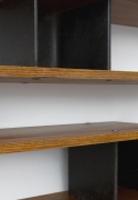 """Charlotte Perriand's """"Nuage"""" wall shelving, detailed view"""