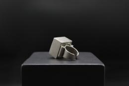 Serge Manzon's ring, back view