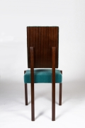 André Sornay's chair, straight back view