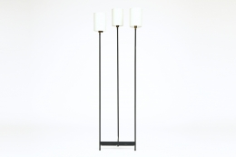 Unknown artist's floor lamp, front straight view