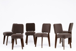 Dominique's Set of 6 chairs full view