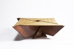 Hervé Baley's coffee table eye level view