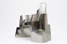 Jim Cole's sculptural bench side view