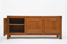 Maison Regain's sideboard left door open