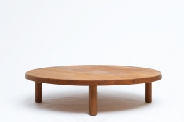 """Pierre Chapo's """"T02P"""" coffee table straight view"""