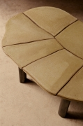 Studio Giancarlo Valle's Jane table, detailed view of ceramic table top