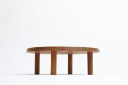 """Pierre Chapo """"T02M"""" coffee table second view from under"""