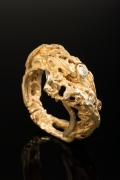 Jean-Claude Bonillo's bracelet, full view turned on its side