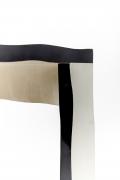 Howard Meister designer chair, detailed view of legs