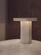 Studio Giancarlo Valle's plateau lamp, full front view