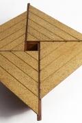 Hervé Baley's coffee table detail of cork top