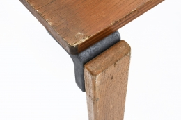 George Candilis' coffee table detail of aluminum joinery
