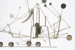 François Colette's kinetic sculpture cropped view