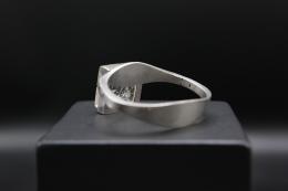 Vivianna Torun Bülow-Hübe's bracelet, close up back view showing inner bracelet