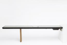 Charlotte Perriand's console for Maison de la Tunisie, full straight view