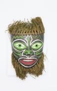 Colette Guéden's ceramic mask full view