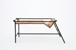 Jacques Adnet's side table