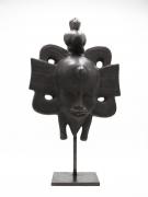 Roger Capron's ceramic mask straight view