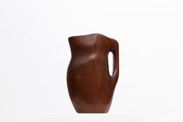Alexandre Noll's mahogany pitcher, other side view