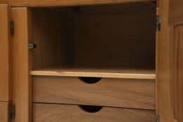 Maison Regain's sideboard detail of drawers